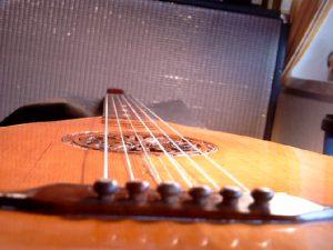 Luth-guitare allemand de la fin du 19ème siècle